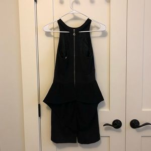 BCNGeneration Black Bow Back Cocktail Dress